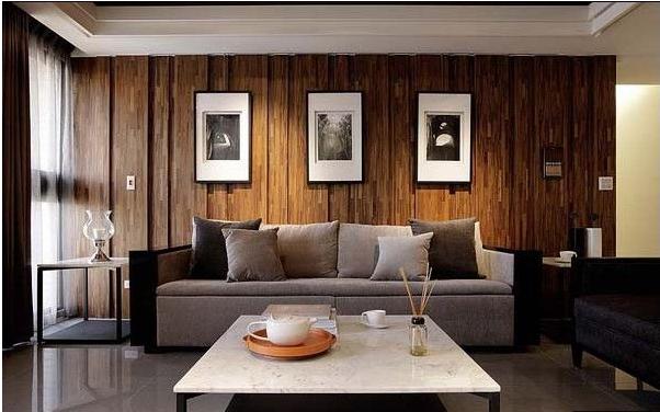 锦绣山河86平现代简约风格装修效果图实木家居